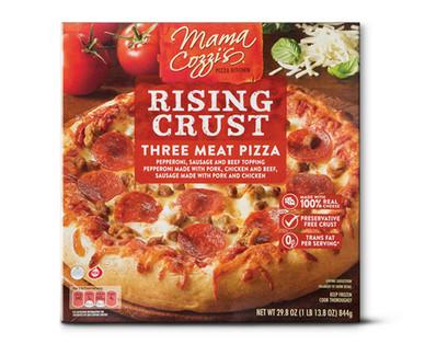 Mama Cozzi's Pizza Kitchen 3 Meat Rising Crust Pizza