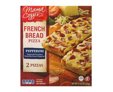 Mama Cozzi's Pizza Kitchen French Bread Pepperoni Pizza