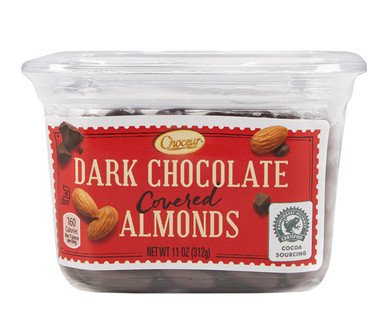 Choceur Dark Chocolate Covered Almonds