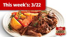 Tyson Fresh USDA Choice Beef Pot Roast Kit
