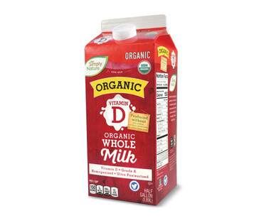 Simply Nature Organic Whole Milk