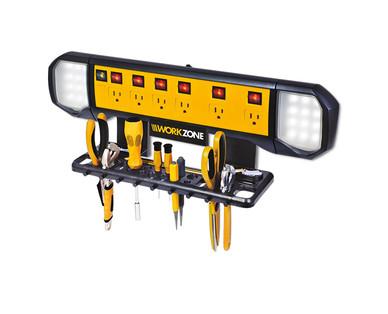 Workzone Wall Mounted Power Board - Aldi - The Garage Journal Board