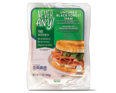 Never Any! Uncured Black Forest Ham