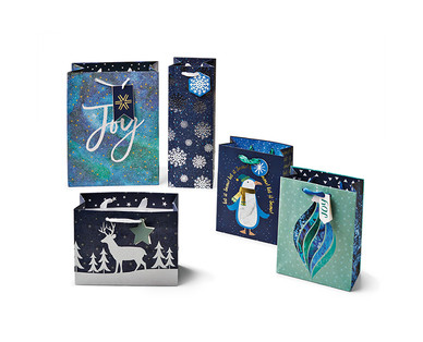 Merry Moments 5-Pack Premium Gift Bags View 1