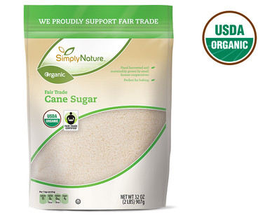 SimplyNature Organic Cane Sugar