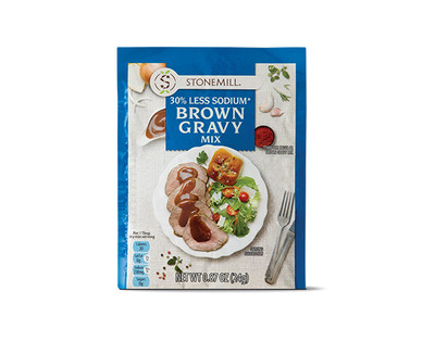 Brown Gravy Mix Low Sodium