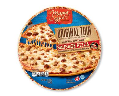 Mama Cozzi's Pizza Original Thin Crust Sausage