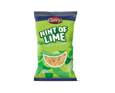 Clancy's Hint of Lime Tortilla Chips View 1