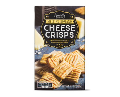 Specially Selected Melting Romano Cheese Crisps