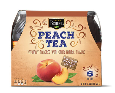 Benner Peach Tea 6 Pack