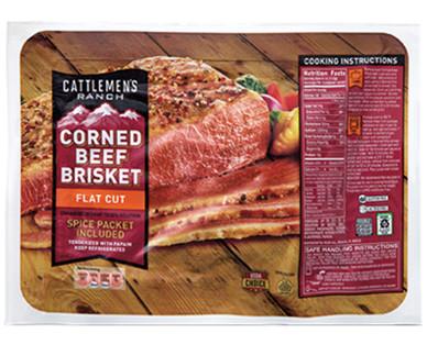 Cattlemen's Ranch USDA Choice Flat Cut Corned Beef Brisket