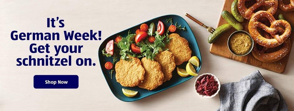 It's German Week! Get your schnitzel on. Shop Now.