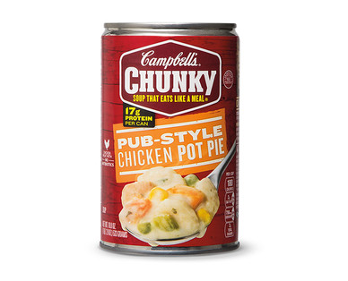 Campbell's Chunky Steak & Potato or Chicken Pot Pie Soup View 2