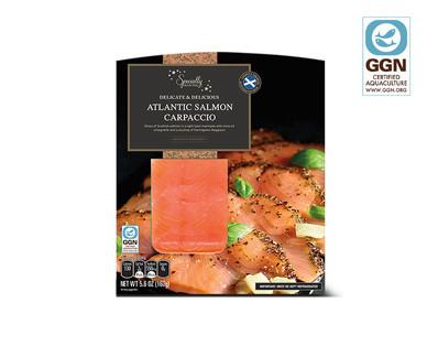 Specially Selected Salmon Carpaccio View 1