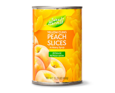 Sweet Harvest Peach Slices in Heavy Syrup