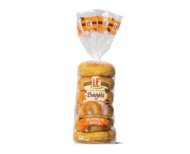 L'oven Fresh Pumpkin Spice Bagels
