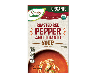 Simply Nature Organic Red Pepper and Tomato Soup