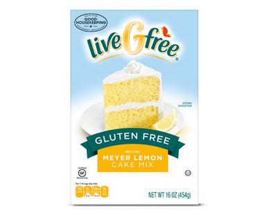 LiveGfree Gluten Free Meyer Lemon Cake Mix