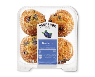 Bake Shop Blueberry Muffins