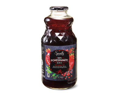 Specially Selected Premium One Hundred Percent Pomegranate Juice