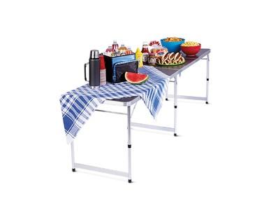 "Adventuridge 94"" Extra Long Folding Table View 3"