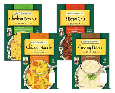 Chef's Cupboard Hearty Soup or Chili Mix Assorted Varieties