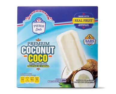 Pueblo Lindo Premium Coconut Ice Cream Bars