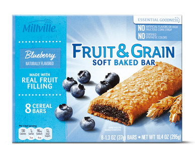 Millville Blueberry Fruit & Grain Bars