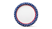 Boulder Patriotic Tableware
