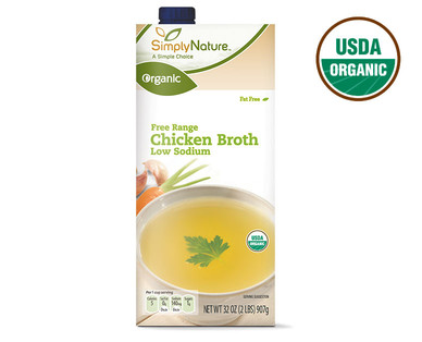 SimplyNature Organic Low Sodium Chicken Broth