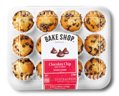 Bake Shop Chocolate Chip Mini Muffins