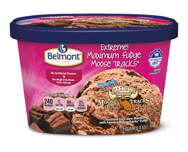 Belmont Extreme! Maximum Fudge Moose Tracks