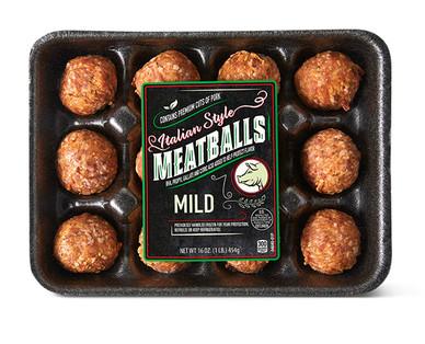 Pork Italian Style Meatballs
