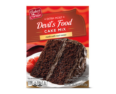 Baker's Corner Devil's Food Cake Mix