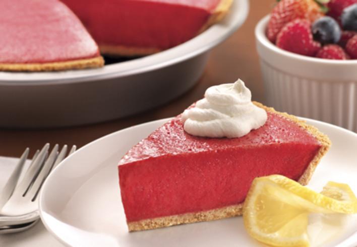 Frozen Raspberry Lemon Pie