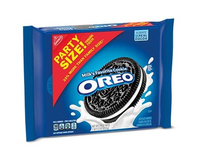 Nabisco Party Size Oreos