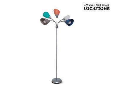 Easy Home 5-Head Adjustable Floor Lamp