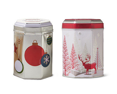 Holiday Music Tins with Cookies View 2