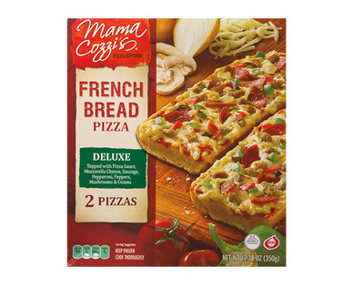 Mama Cozzi's Pizza Kitchen French Bread Deluxe Pizza