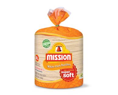 """Mission 6"""" White Corn Tortillas"""