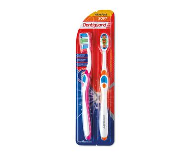 Dentiguard Pink Toothbrushes