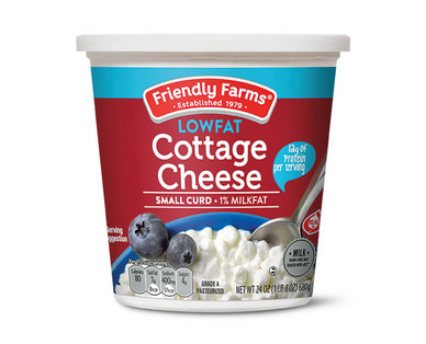 Friendly Farms Low Fat Cottage Cheese