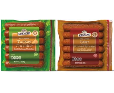 Kirkwood Turkey & Cheddar or Jalapeño Smoked Sausage