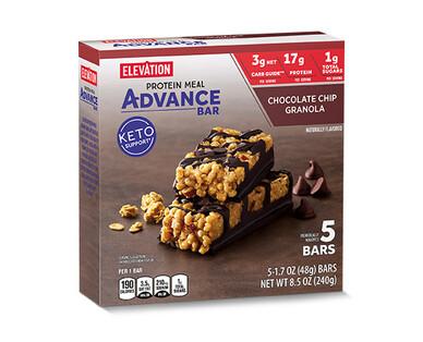 Elevation Advance Meal Bars Chocolate Chip Granola