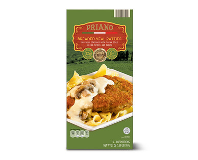 Priano Breaded Veal Patties View 1