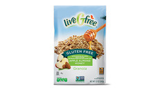 liveGFree Gluten Free Apple Almond Honey Granola
