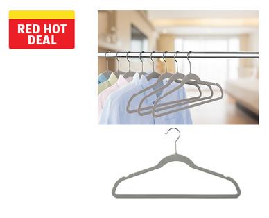 Easy Home 50-Pack Velvet Touch Hangers View 2