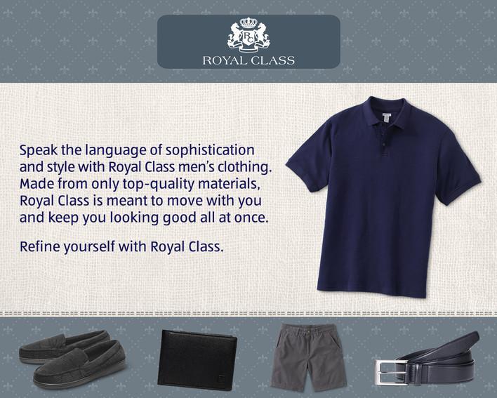 Royal Class Men's Clothing