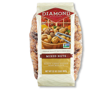 Diamond Mixed Nuts in Shell
