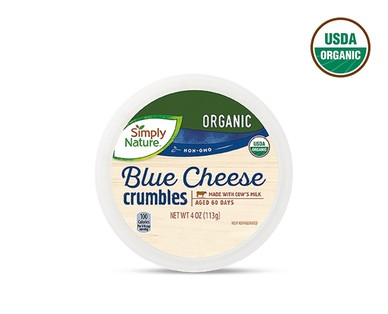 Simply Nature Organic Feta, Blue or Shredded Parmesan Cheese View 3